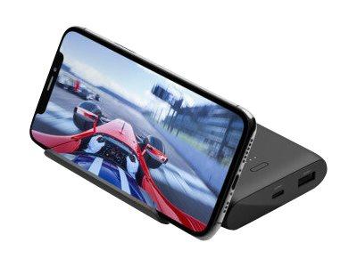 Belkin BOOST CHARGE - Powerbank - 10000 mAh - 2 Ausgabeanschlussstellen (USB, USB-C) - Schwarz