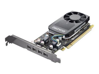 NVIDIA Quadro P620 - Grafikkarten - Quadro P620 - 2 GB GDDR5 - 4 x Mini DisplayPort - für ThinkStation P320; P330; P330 (2nd Gen