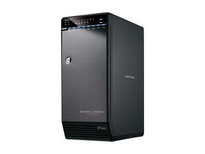 FANTEC QB-X8US3R - Festplatten-Array - 8 Schächte (SATA-300) - SATA 3Gb/s, USB 3.0 (extern)