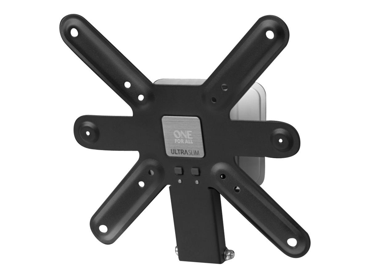 One For All ULTRA SLIM WM 6221 - Wandhalterung für LCD TV - Aluminium, Kohlenstoffstahl - Bildschirmgrösse: 33-107 cm (13