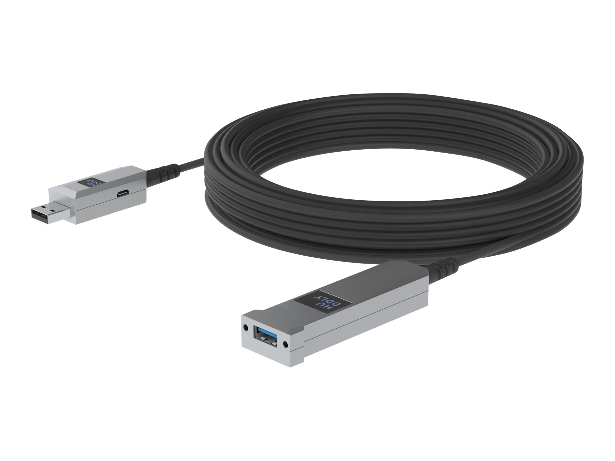 Huddly - USB-Kabel - USB Typ A (M) bis USB Typ A (W) - USB 3.1 Gen 1 - 5 m - Active Optical Cable (AOC)