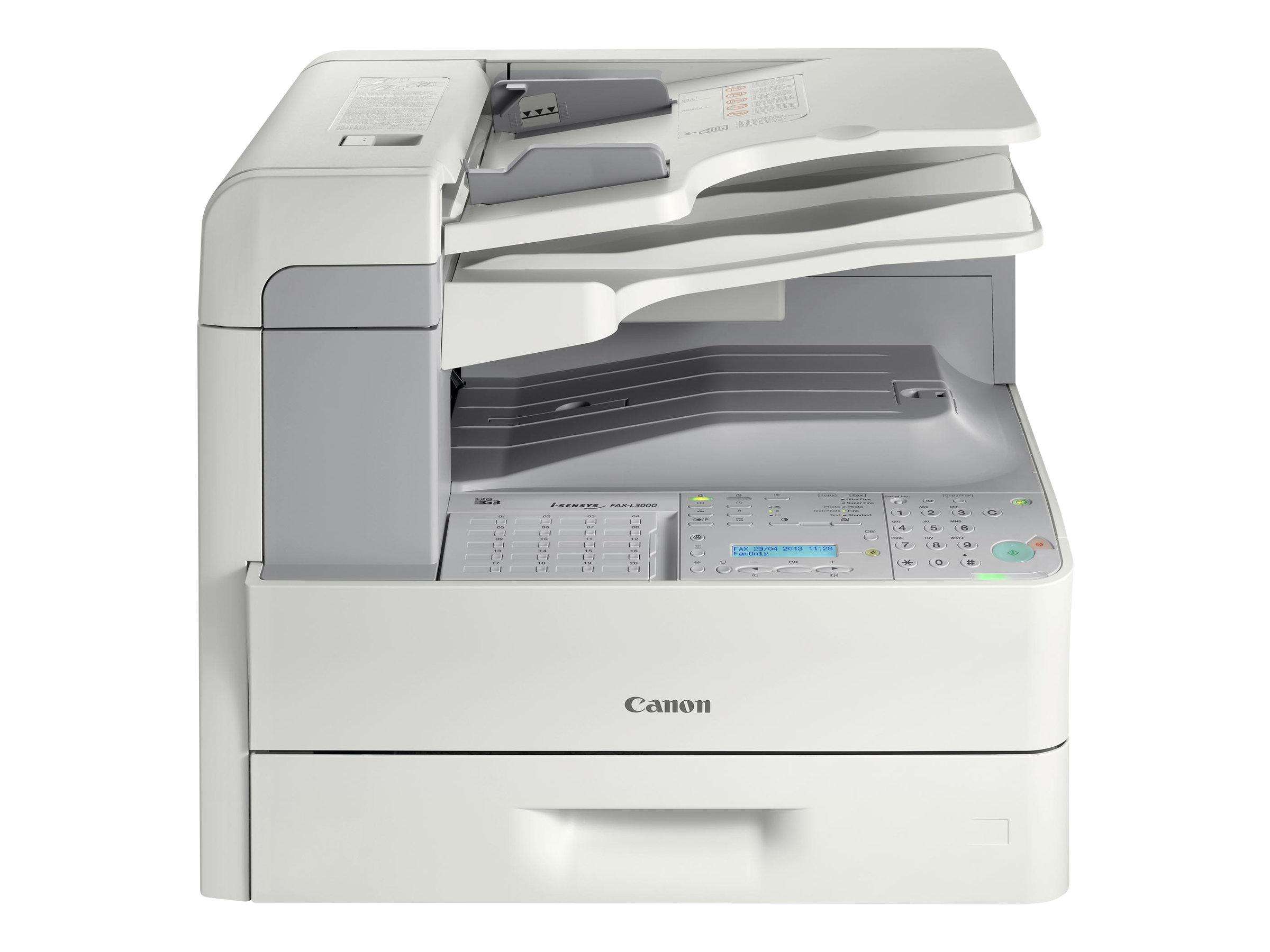 Canon i-SENSYS FAX-L3000 - Faxgerät / Kopierer - s/w - Laser - Legal (Medien) - bis zu 22 Seiten/Min. (Kopieren)
