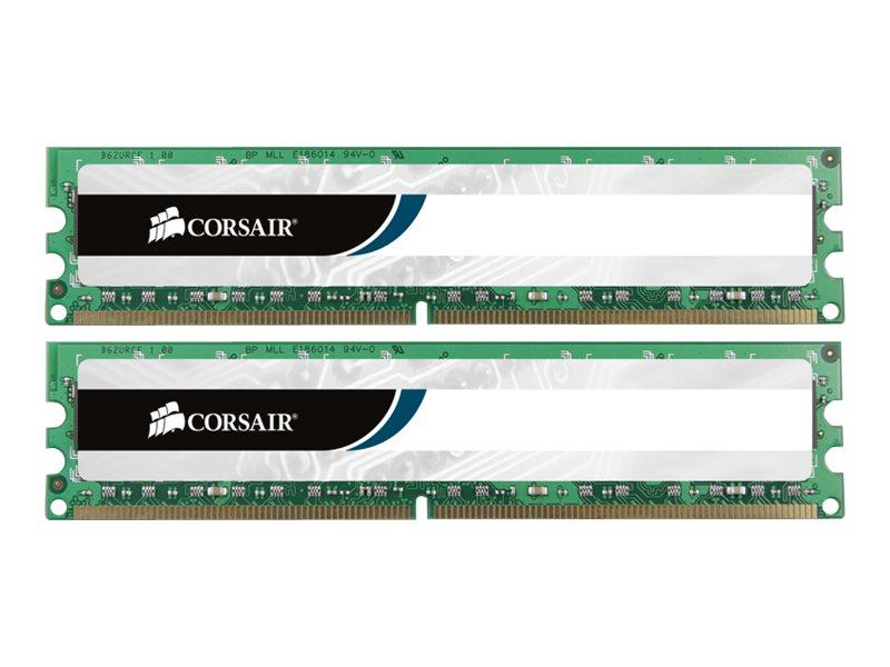 CORSAIR Value Select - DDR3 - 16 GB: 2 x 8 GB - DIMM 240-PIN - 1600 MHz / PC3-12800 - CL11