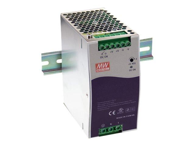 Allied Telesis AT-MWMDR - Stromversorgung (DIN-Schienenmontage möglich) - Wechselstrom 220 V - 40 Watt