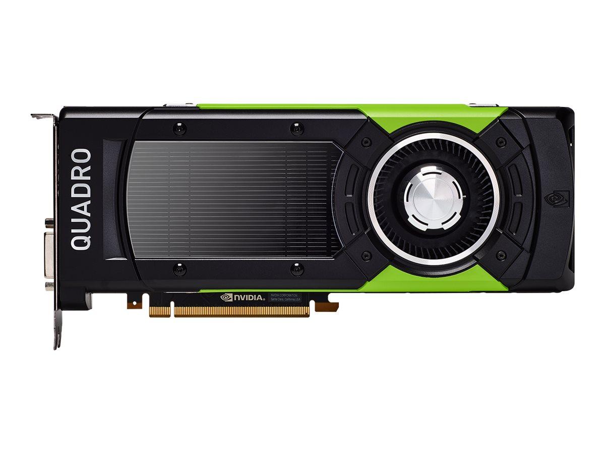 NVIDIA Quadro GP100 - Grafikkarten - Quadro GP100 - 16 GB HBM2 - PCIe 3.0 x16 - DVI, 4 x DisplayPort