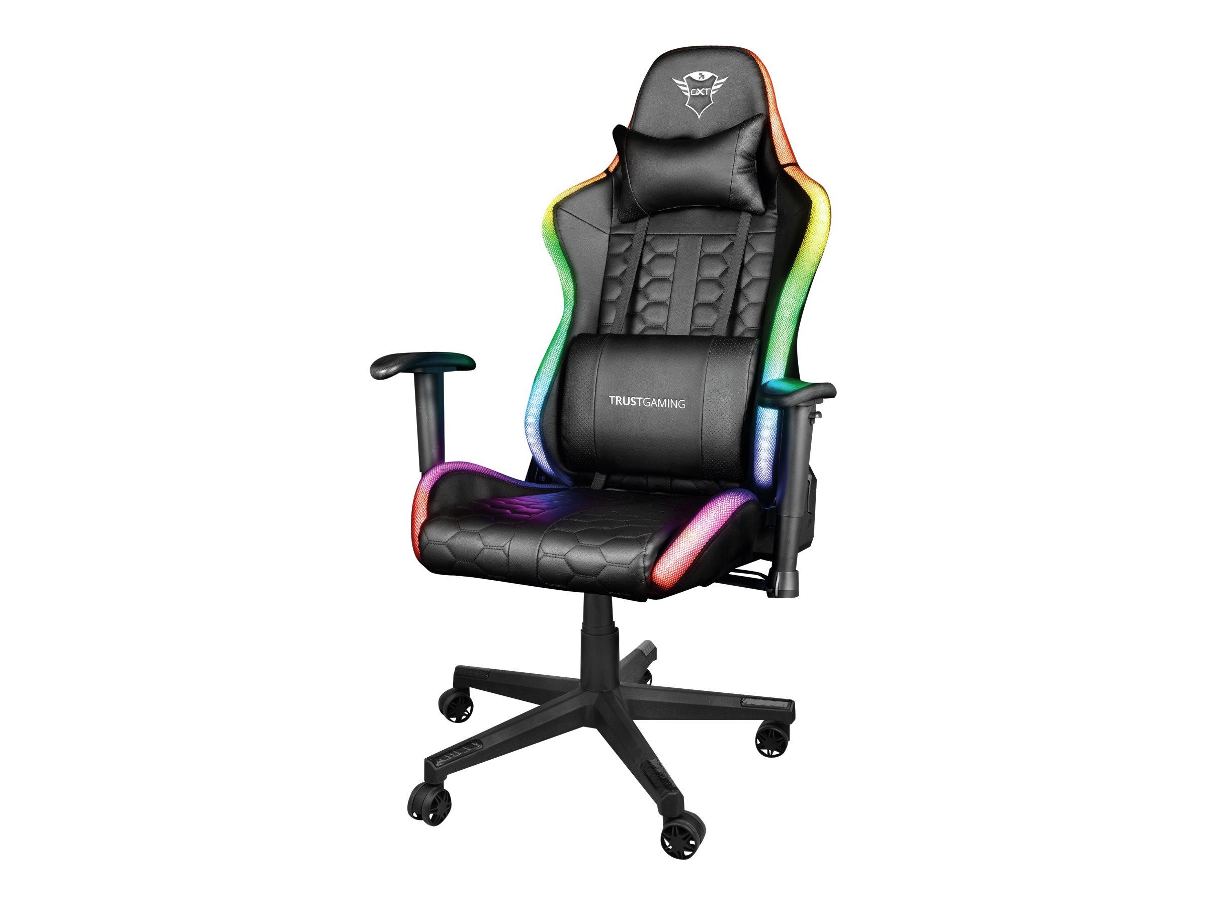 Trust Gaming GXT 716 Rizza - Stuhl - ergonomisch - Armlehnen - Neigen - Drehgelenk