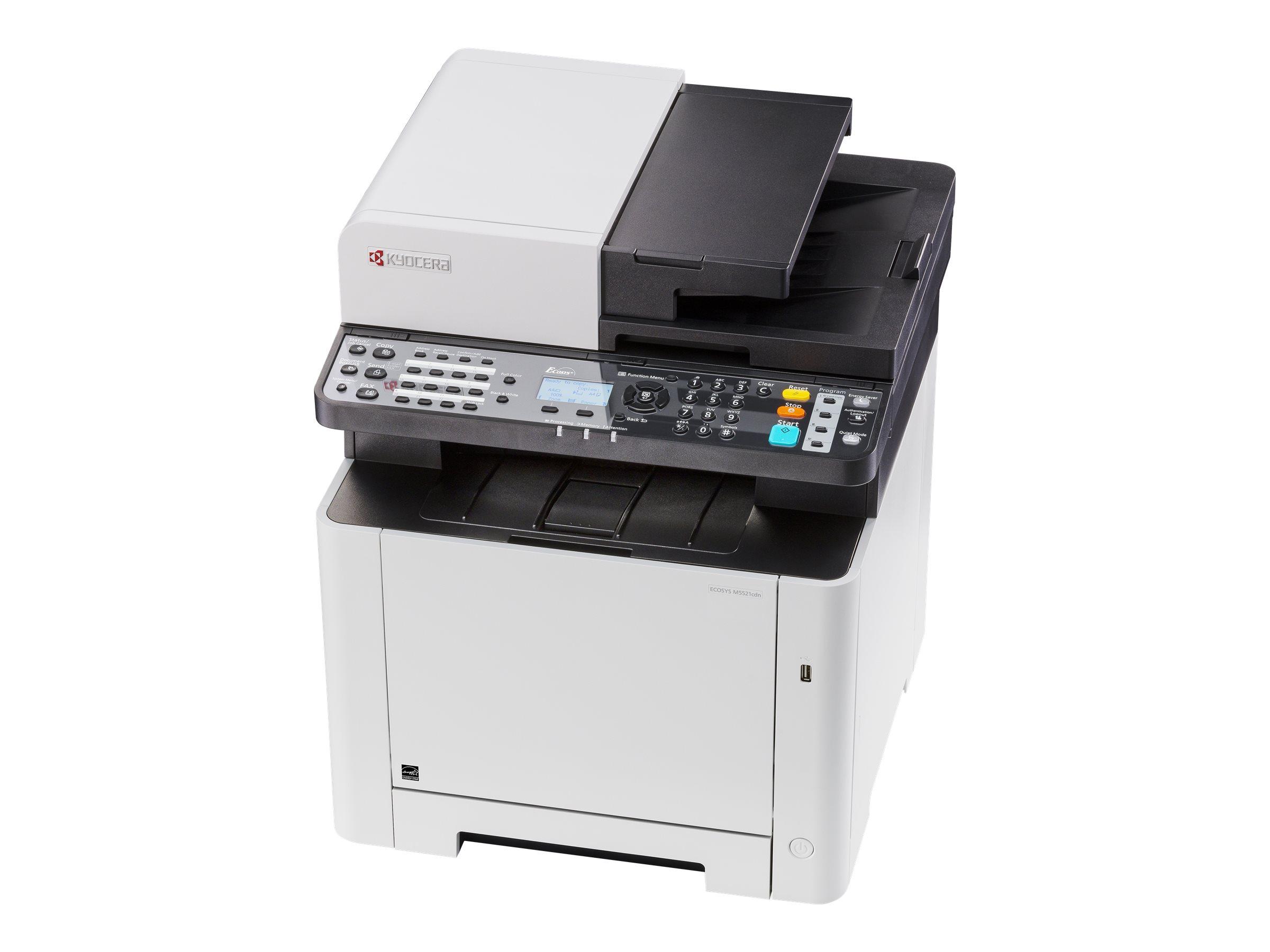 Kyocera ECOSYS M5521cdn - Multifunktionsdrucker - Farbe - Laser - Legal (216 x 356 mm)/A4 (210 x 297 mm) (Original) - A4/Legal (