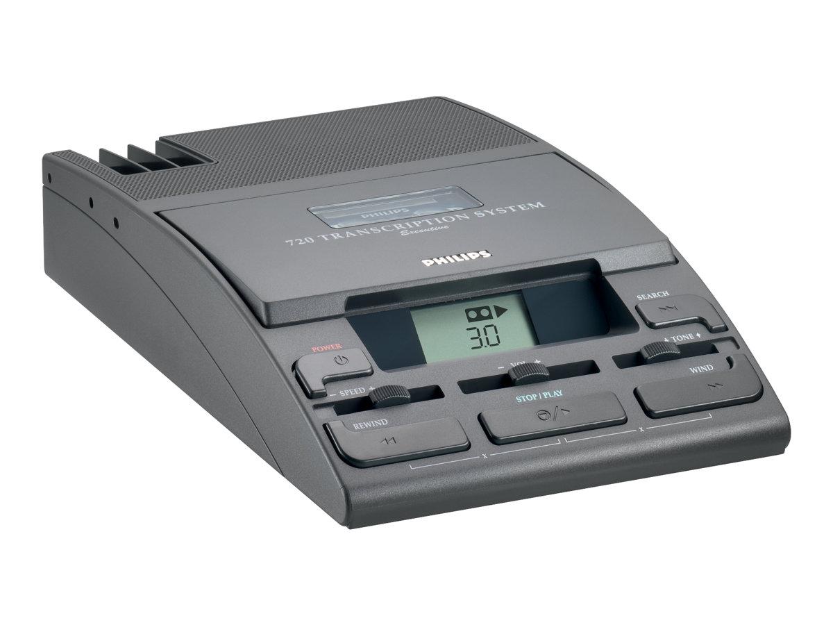 Philips Executive Desktop 720-T - Minikassetten-Transcriber