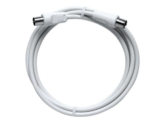 AXING BAK 750-90 - Antennenkabel - HF - IEC-Anschluss (W) bis IEC-Anschluss (M) - 7.5 m - Koax