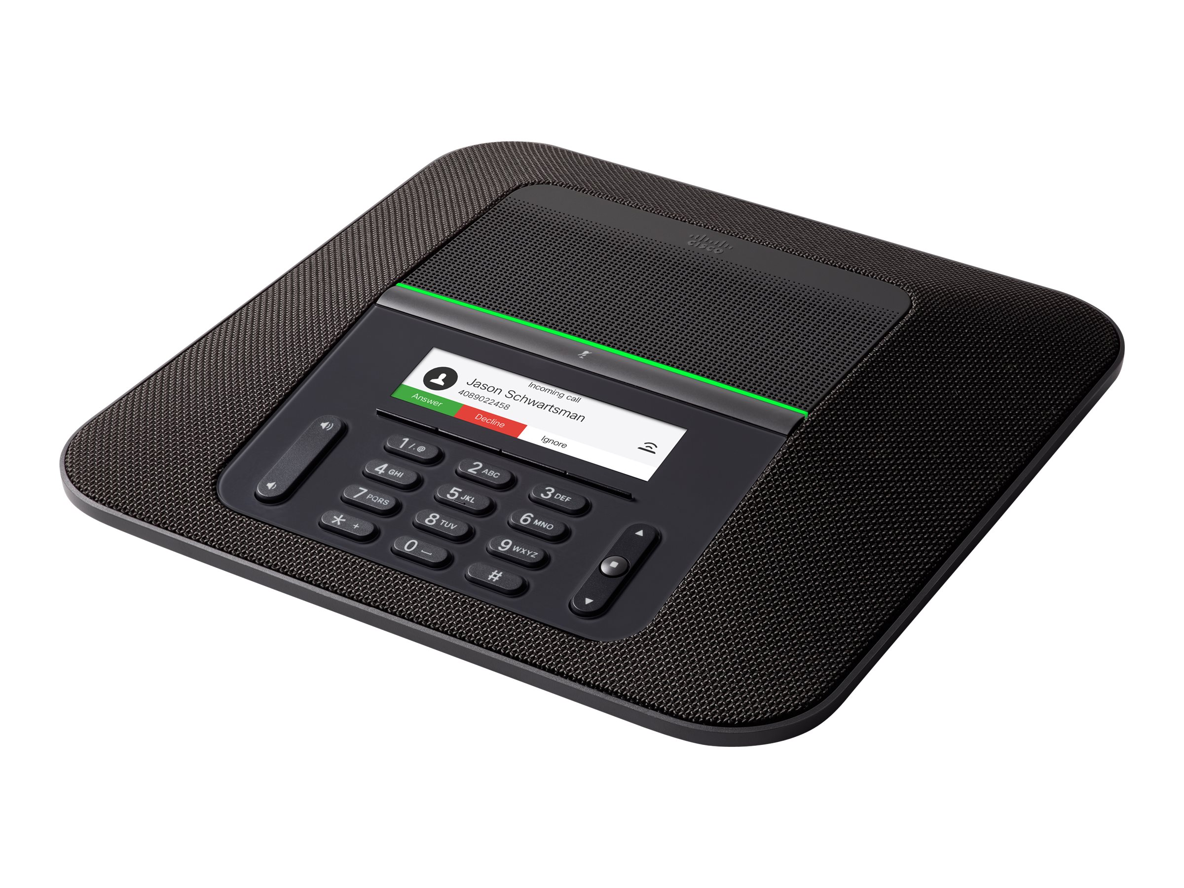Cisco IP Conference Phone 8832 - VoIP-Konferenztelefon - SIP - holzkohlefarben
