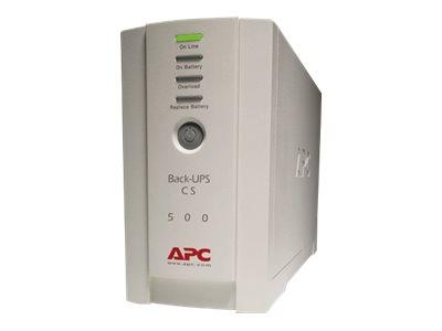APC Back-UPS CS 500 - USV - Wechselstrom 120 V - 300 Watt - 500 VA - Ausgangsanschlüsse: 6
