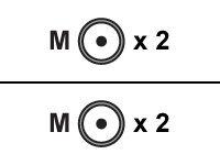 Roline - Audiokabel - RCA (M) bis RCA (M) - 2.5 m - abgeschirmt - Schwarz