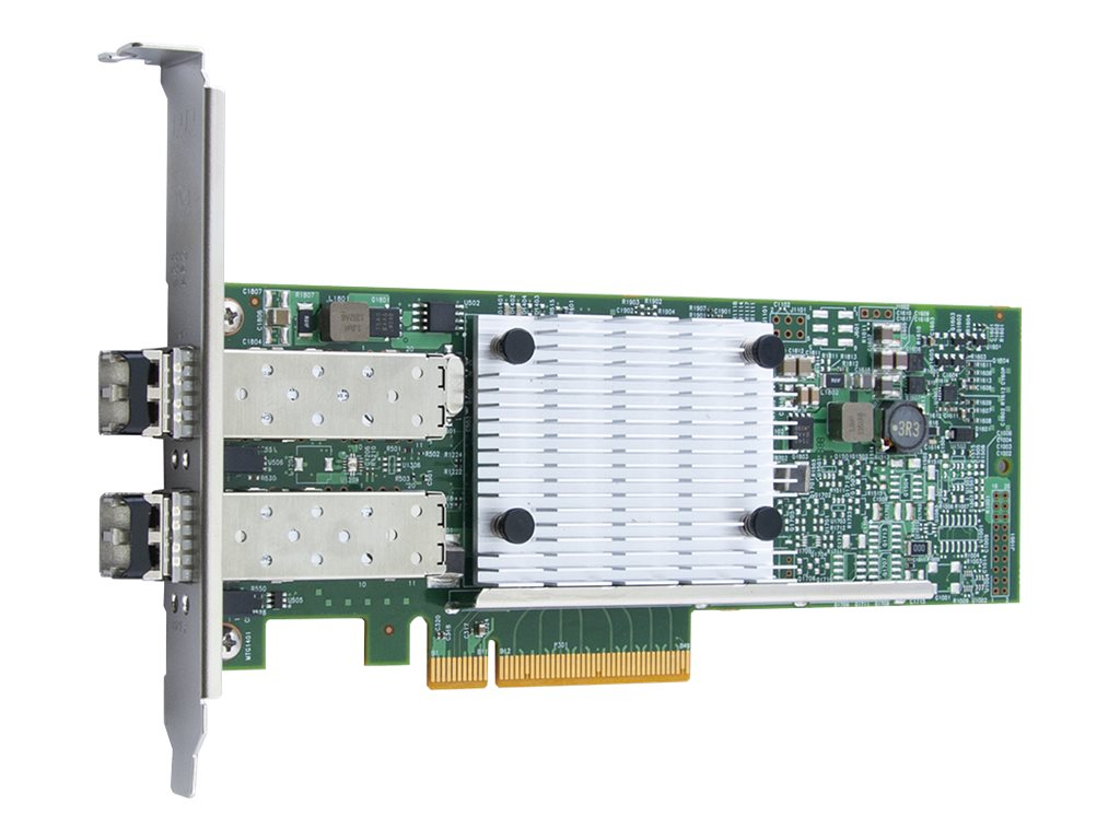 QLogic QLE8442-CU - Netzwerkadapter - PCIe 3.0 x8 Low-Profile - 10 Gigabit SFP+ x 2