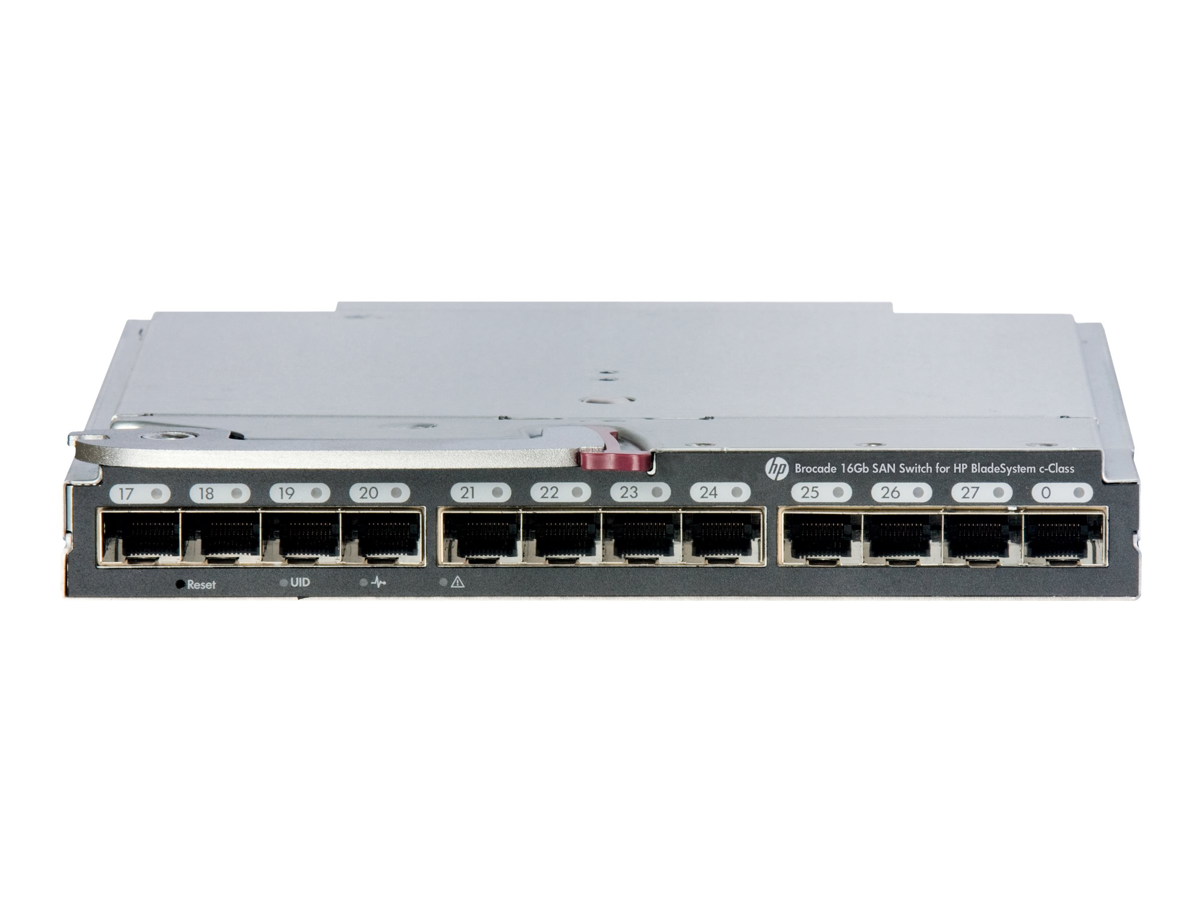 [Wiederaufbereitet] Brocade 16Gb/28 SAN Switch for HP BladeSystem c-Class - Switch - managed - 16 x 16Gb Fibre Channel (intern)