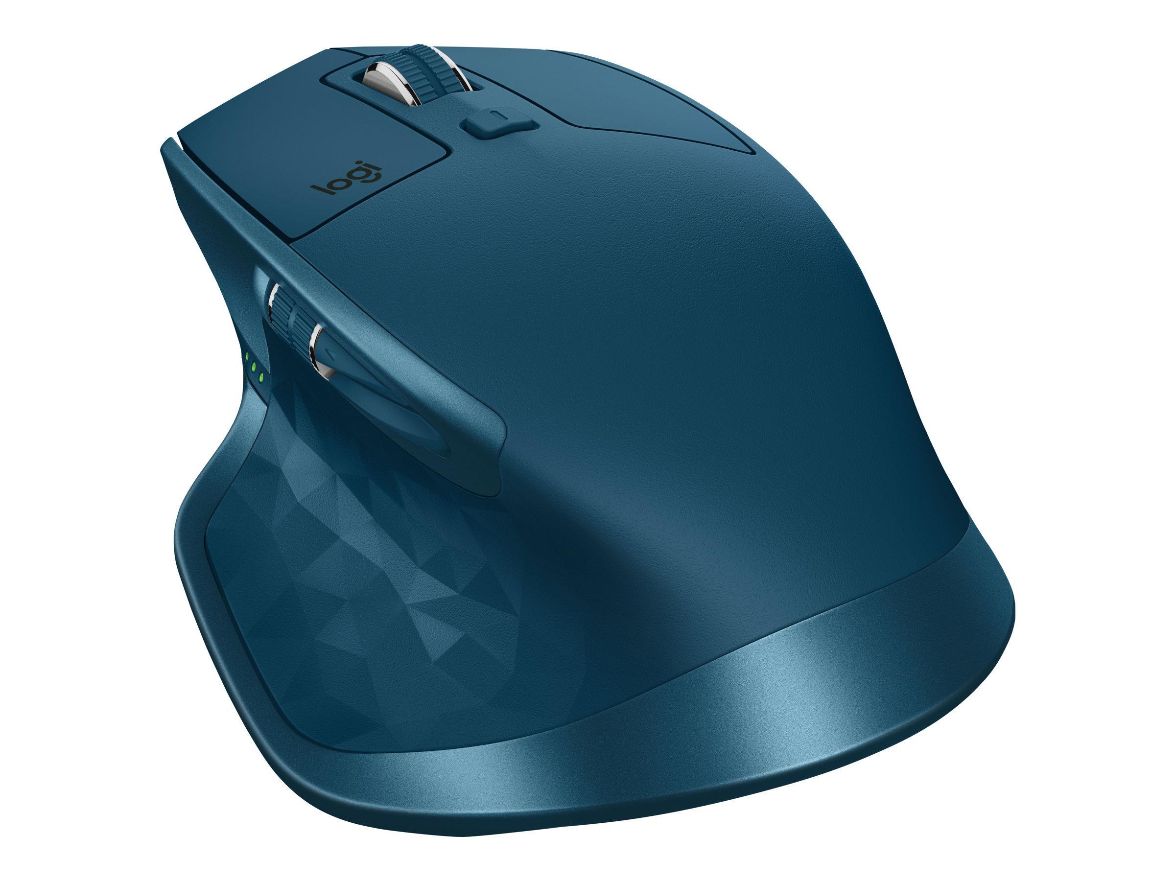 Logitech MX Master 2S - Maus - Laser - 7 Tasten - kabellos - Bluetooth, 2.4 GHz