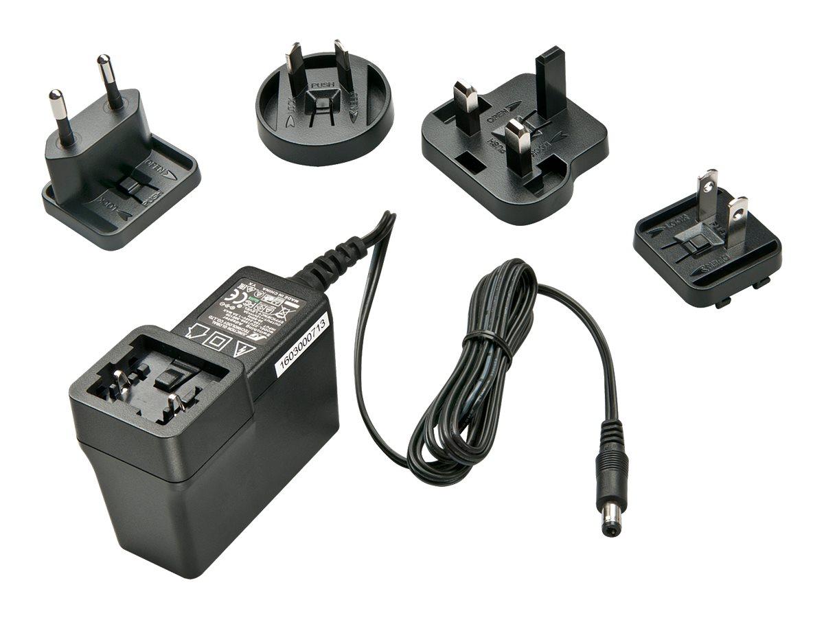 Lindy - Netzteil - 3 A (Gleichstromstecker 5,5 x 2,1 mm) - Schwarz - Australien, China, Japan, Kanada, Hong Kong, Neuseeland, Ta