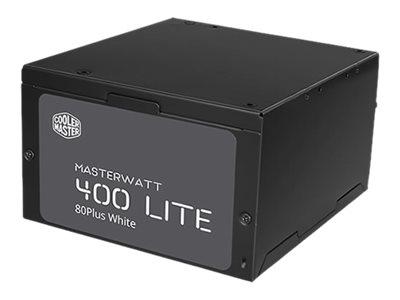 Cooler Master MasterWatt Lite 400 - Stromversorgung (intern) - ATX12V 2.31 - 80 PLUS - Wechselstrom 230 V - 400 Watt