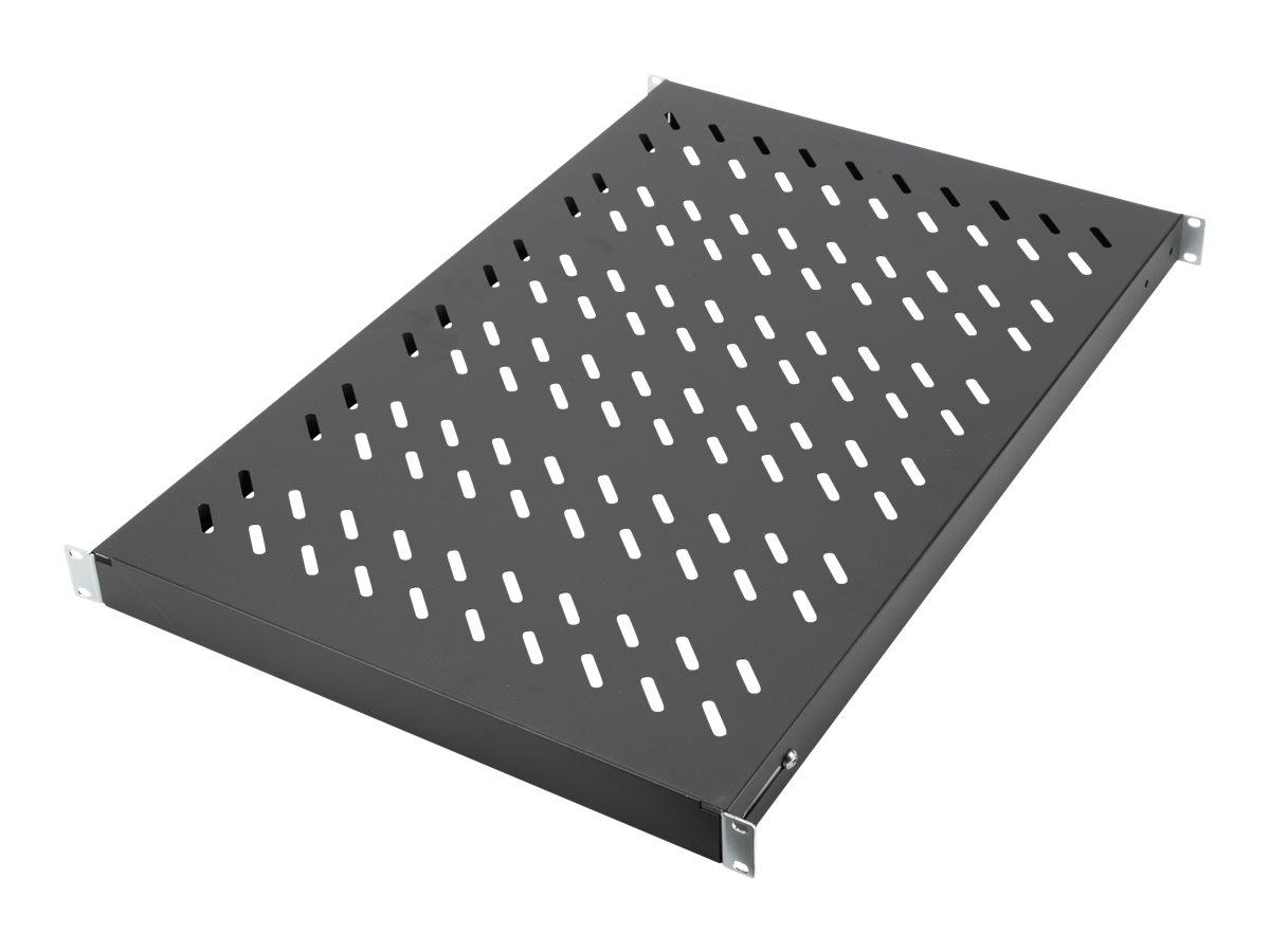 DIGITUS - Rack - Regal - Schwarz, RAL 9005 - 1U - 48.3 cm (19