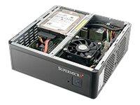 Supermicro SuperServer 1019S-MP - Barebone - Mini-ITX Box PC - Mobile Intel CM236 Express - 1 x Xeon E3-1515MV5 - Iris Pro Graph