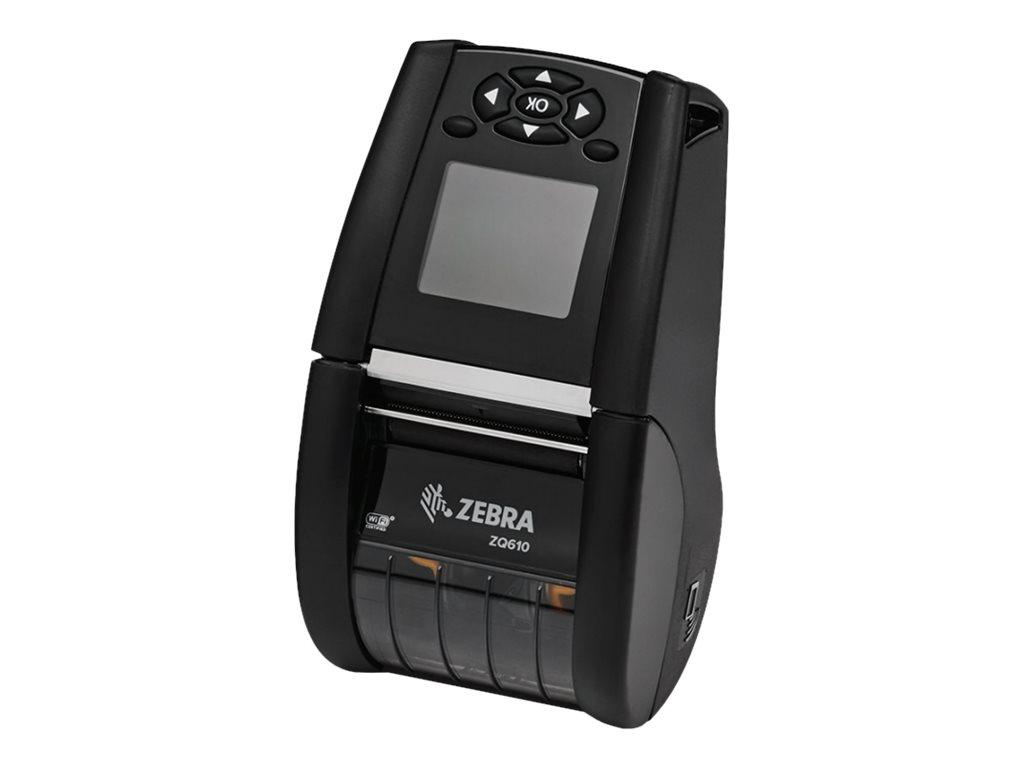Zebra ZQ600 Series ZQ610 - Etikettendrucker - Thermopapier - Rolle (5,54 cm) - 203 dpi - bis zu 115 mm/Sek.