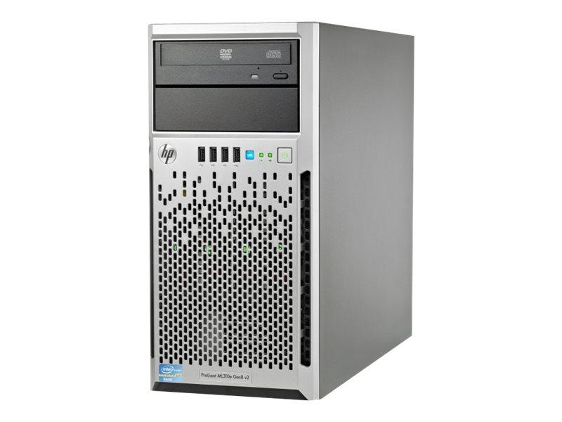 HPE ProLiant ML310e Gen8 v2 Base - Server - Tower - 4U - 1-Weg - 1 x Xeon E3-1220V3 / 3.1 GHz