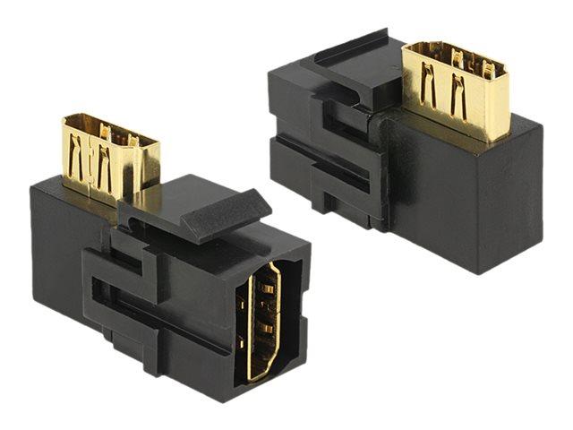 DeLOCK Keystone module - Modularer Einschub (Kopplung) - HDMI - Schwarz