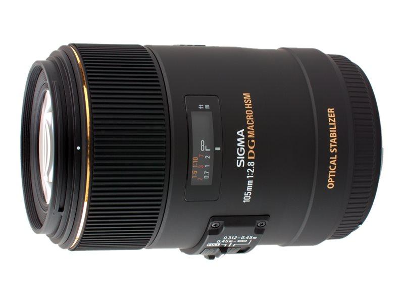 Sigma EX - Makro-Objektiv - 105 mm - f/2.8 DG OS HSM - Nikon F