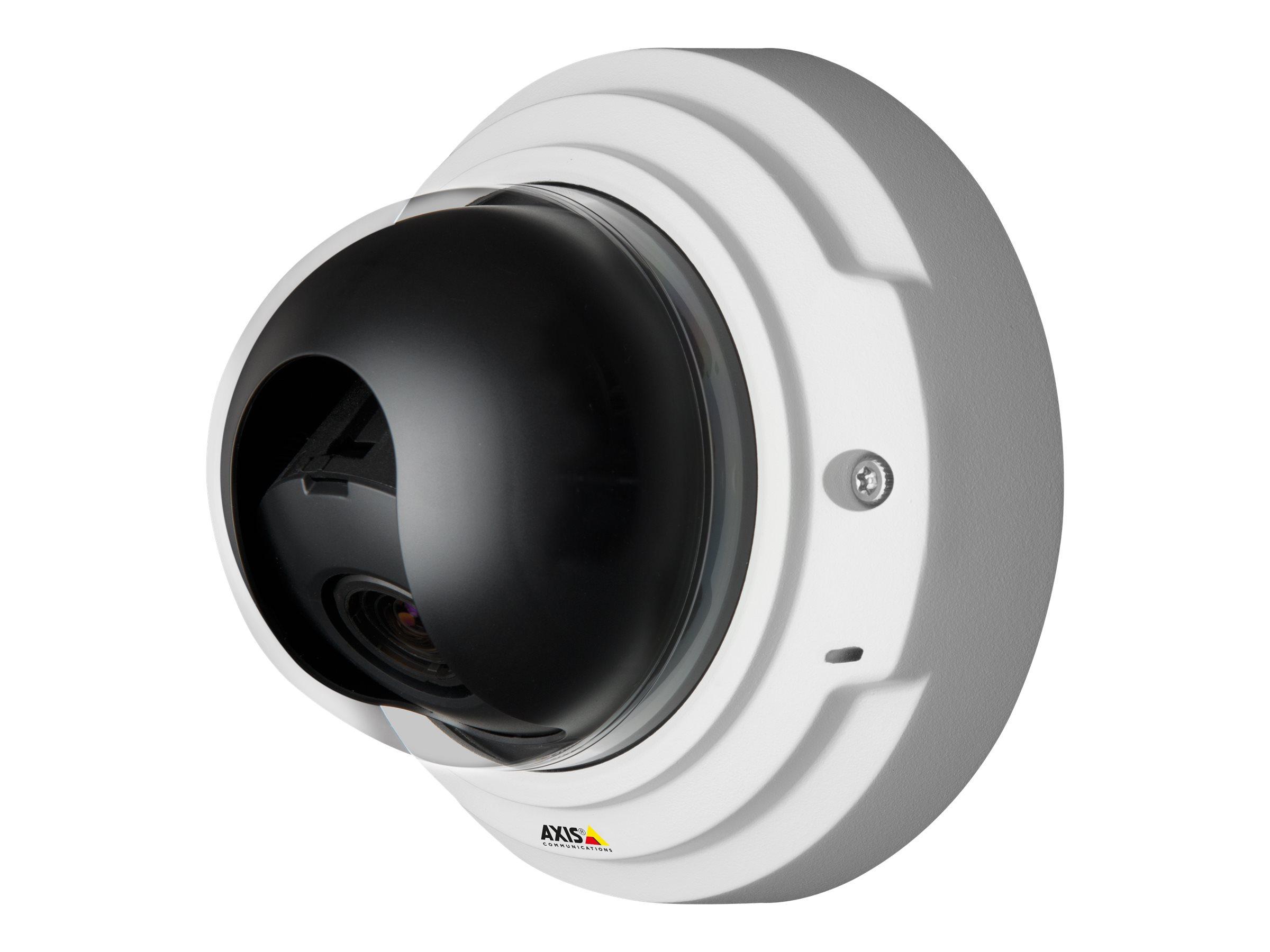 AXIS P3367-V Network Camera - Netzwerk-Überwachungskamera - Kuppel - vandalismusgeschützt - Farbe (Tag&Nacht) - 5 MP