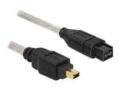 DeLOCK - IEEE 1394-Kabel - FireWire 800 (M) bis FireWire, 4-polig (M) - 3 m