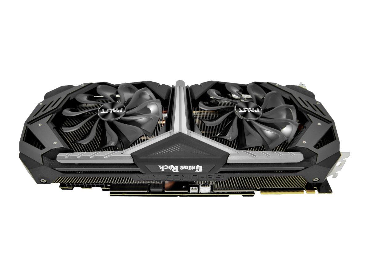 Palit GeForce RTX 2080 GameRock - Grafikkarten - GF RTX 2080 - 8 GB GDDR6 - PCIe 3.0 x16 - HDMI, 3 x DisplayPort, USB-C