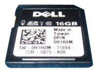 Dell - Kunden-Kit - Flash-Speicherkarte - 16 GB - SD - für PowerEdge T430; PowerEdge R430, R530, R630, R730, R930