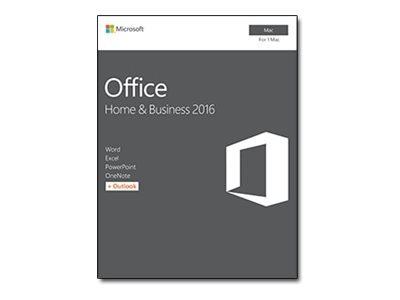 Microsoft Office for Mac Home and Business 2016 - Box-Pack - 1 Mac - ohne Medien, P2 - Mac - Italienisch