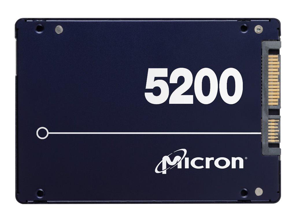 Micron 5200 ECO - Solid-State-Disk - 3840 GB - intern - 2.5