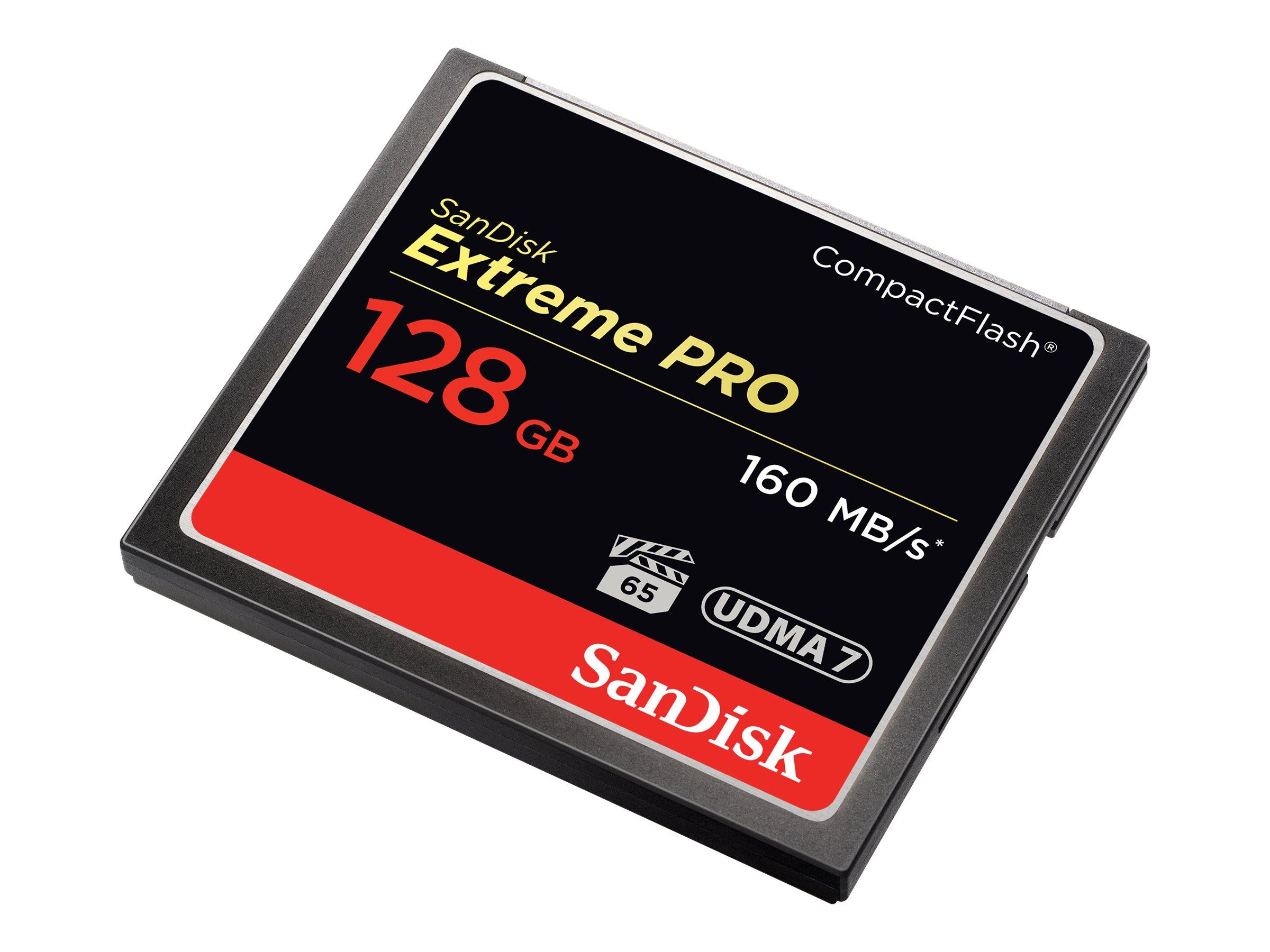SanDisk Extreme Pro - Flash-Speicherkarte - 128 GB - 1000x/1067x - CompactFlash