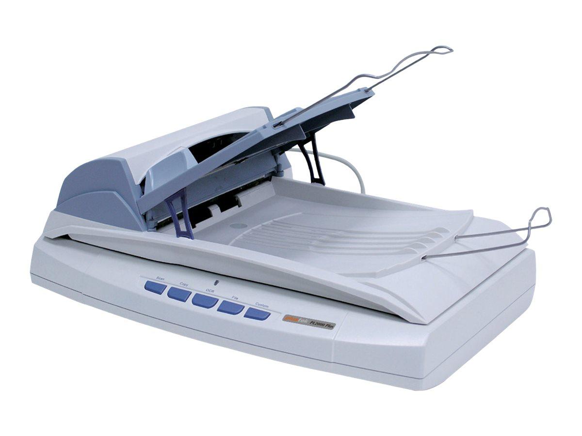 Plustek SmartOffice PL2000 Plus - Dokumentenscanner - 220 x 356 mm - 1200 dpi x 1200 dpi - bis zu 20 Seiten/Min. (einfarbig) / b