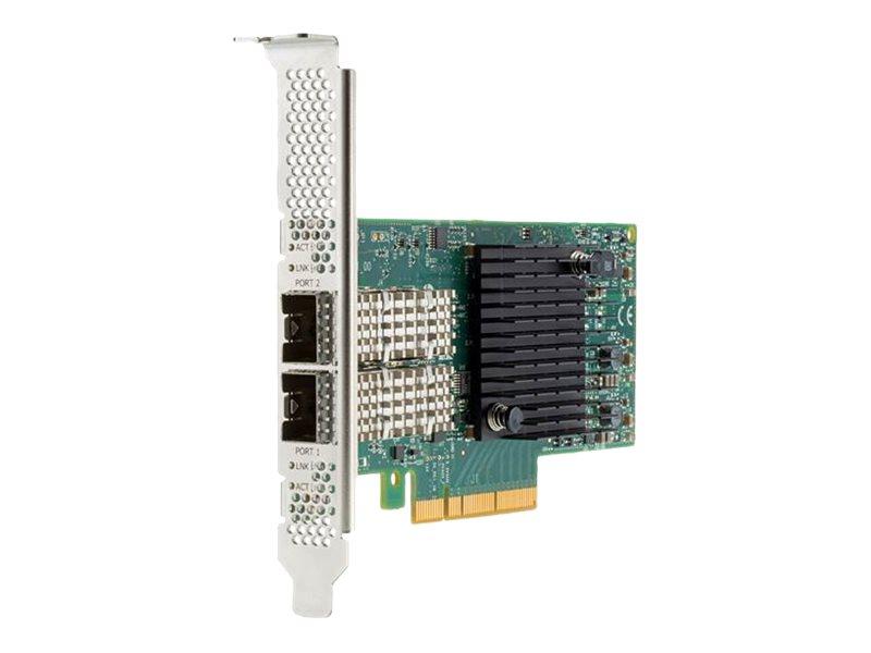 HPE 640SFP28 - Netzwerkadapter - PCIe 3.0 x8 / PCIe 3.0 x4 Low-Profile - 25 Gigabit Ethernet x 2 - für Apollo 4200 Gen10, 4200 G