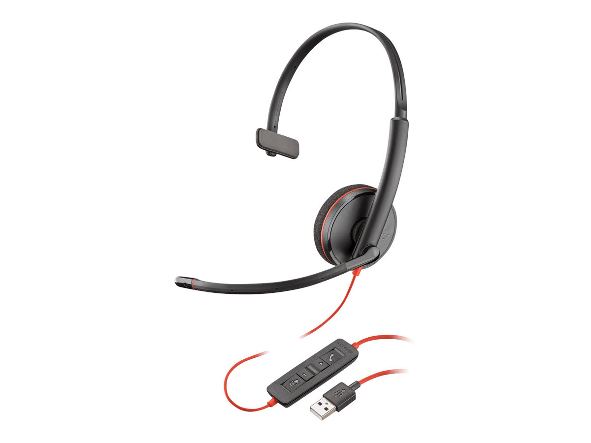 Plantronics Blackwire C3210 USB-A - 3200 Series - Headset - On-Ear - kabelgebunden - USB