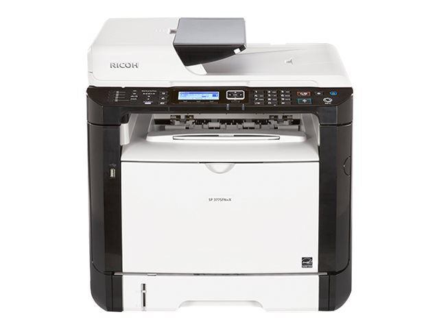 Ricoh SP 377SFNwX - Multifunktionsdrucker - s/w - Laser - A4 (210 x 297 mm), Legal (216 x 356 mm) (Original) - A4/Legal (Medien)