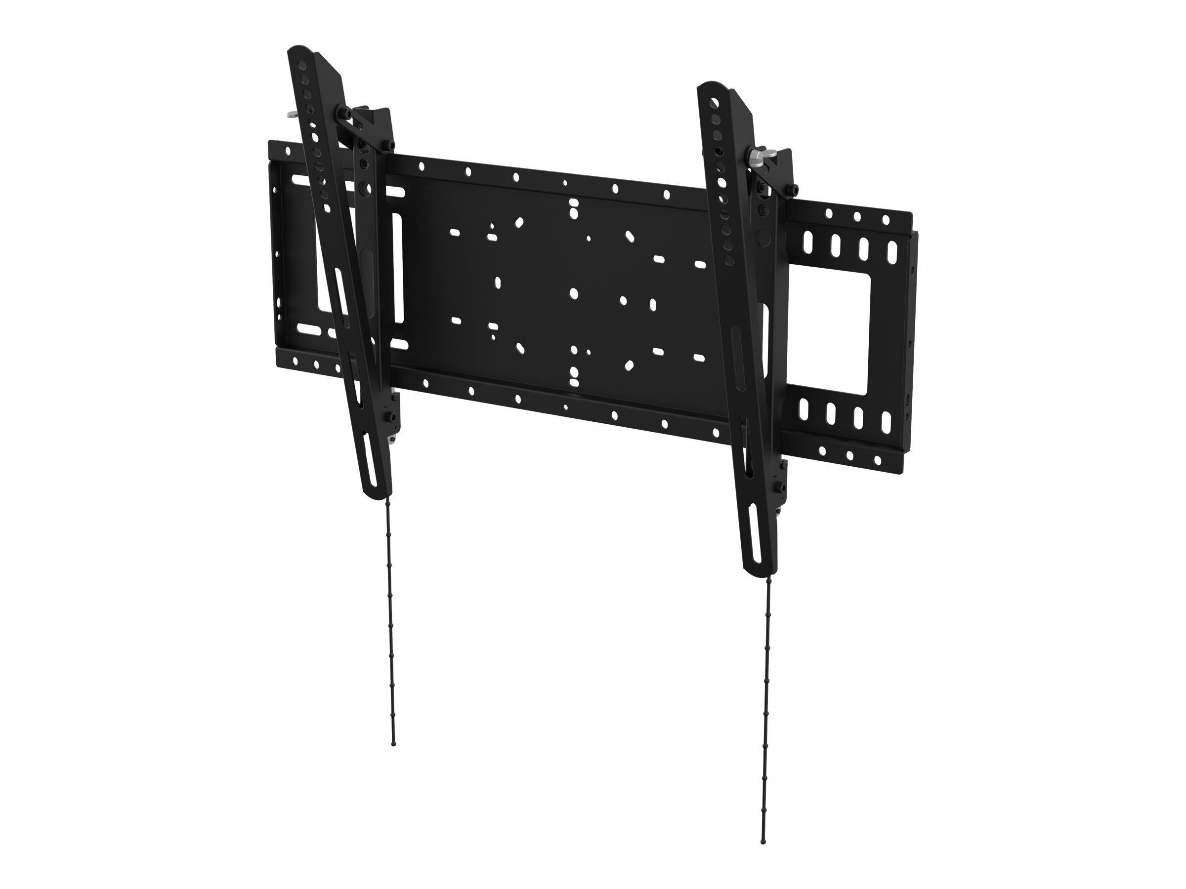 Vision VFM-W6X4T - Wandhalterung für LCD-/Plasmafernseher (neigen) - kaltgewalzter Stahl - Schwarz - Bildschirmgrösse: 94-190.5