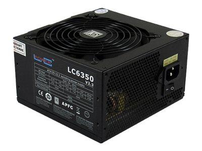 LC Power Super Silent Series LC6350 V2.3 - Stromversorgung (intern) - ATX12V 2.3 - 80 PLUS - 350 Watt - aktive PFC