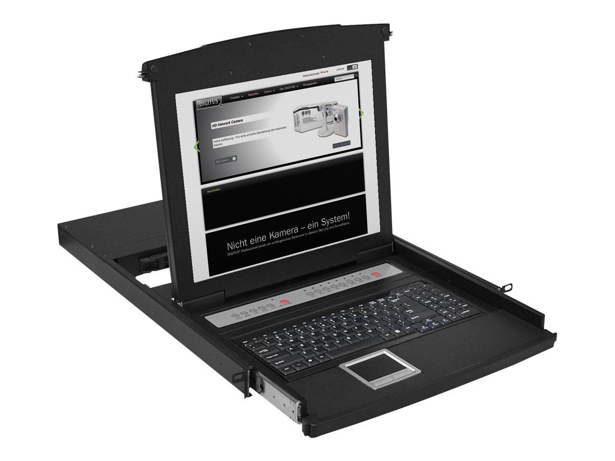 Digitus DS-72001GE - KVM-Konsole - 43.2 cm (17