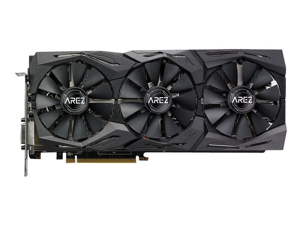 ASUS AREZ-STRIX-RX580-T8G-GAMING - Grafikkarten - Radeon RX 580 - 8 GB GDDR5 - PCIe 3.0 x16 - DVI, 2 x HDMI, 2 x DisplayPort