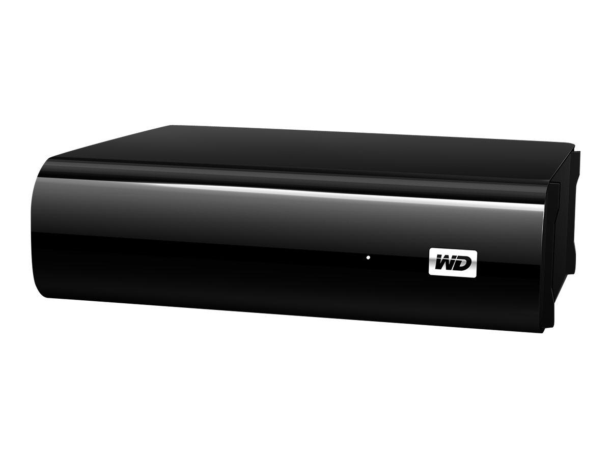 WD MyBook AV-TV WDBGLG0020HBK - Festplatte - 2 TB - extern - USB 3.0