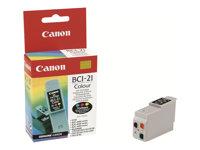 Canon BCI-21 - Gelb, Cyan, Magenta - Original - Tintenbehälter - für BJC-2000, 2100, 4000, 4100, 4200, 4300, 4400, 4550, 4650, 5
