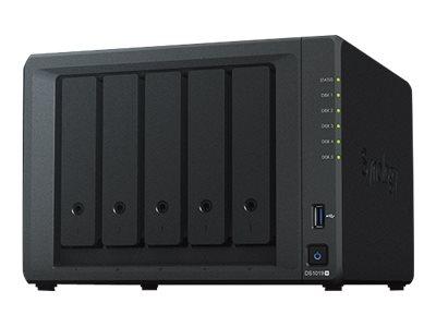Synology Disk Station DS1019+ - NAS-Server - 5 Schächte - SATA 6Gb/s - RAID 0, 1, 5, 6, 10, JBOD - RAM 8 GB