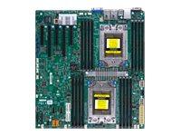 SUPERMICRO H11DSi - Motherboard - Erweitertes ATX - Socket SP3 - 2 Unterstützte CPUs - USB 3.0