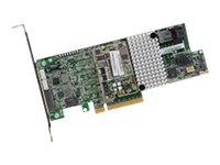 Avago MegaRAID SAS 9361-4i - Speichercontroller (RAID) - SATA 6Gb/s / SAS 12Gb/s Low-Profile - 12 Gbit/s - RAID 0, 1, 5, 6, 10,