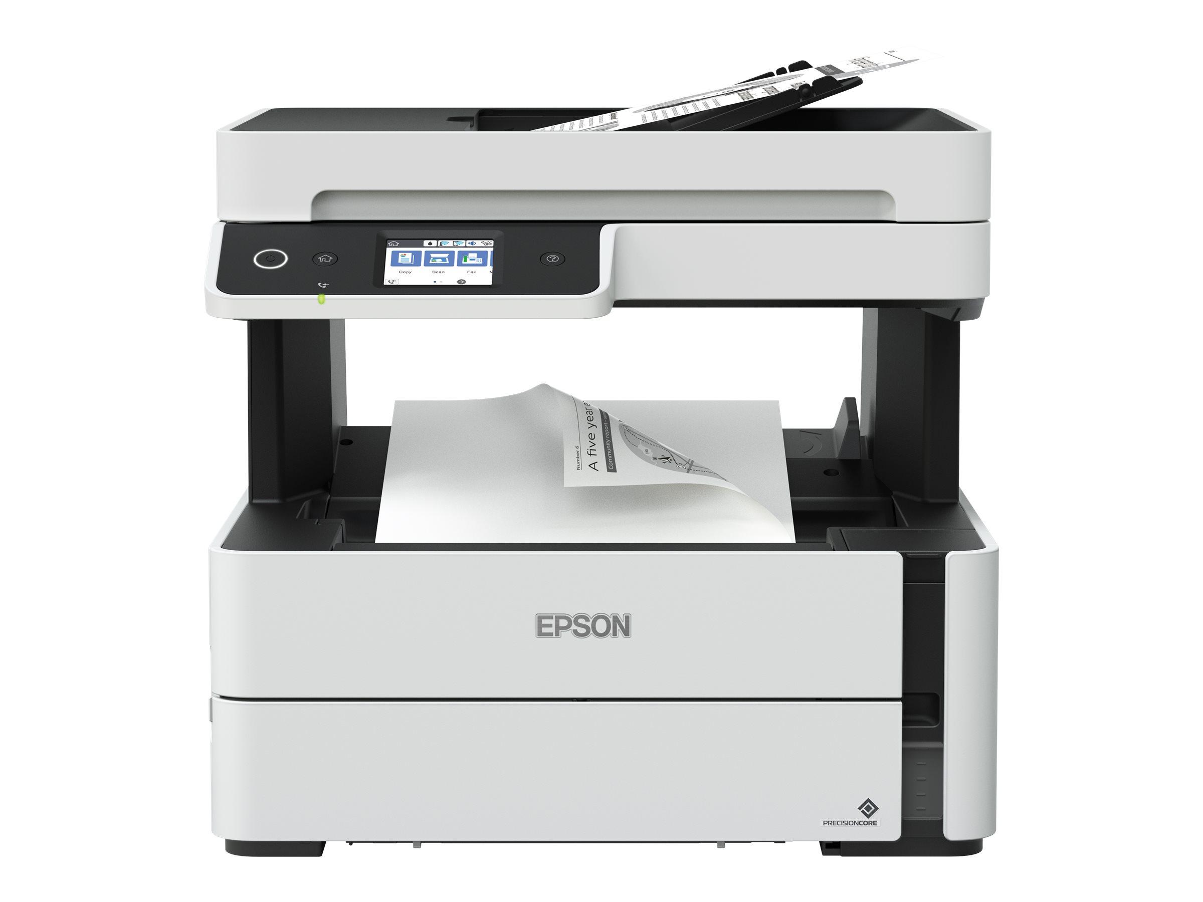 Epson EcoTank ET-M3140 - Multifunktionsdrucker - s/w - Tintenstrahl - A4/Legal (Medien) - bis zu 17 Seiten/Min. (Kopieren)