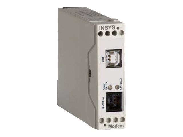 INSYS icom 56k small USB - Modem (analog) - USB - 56 Kbps
