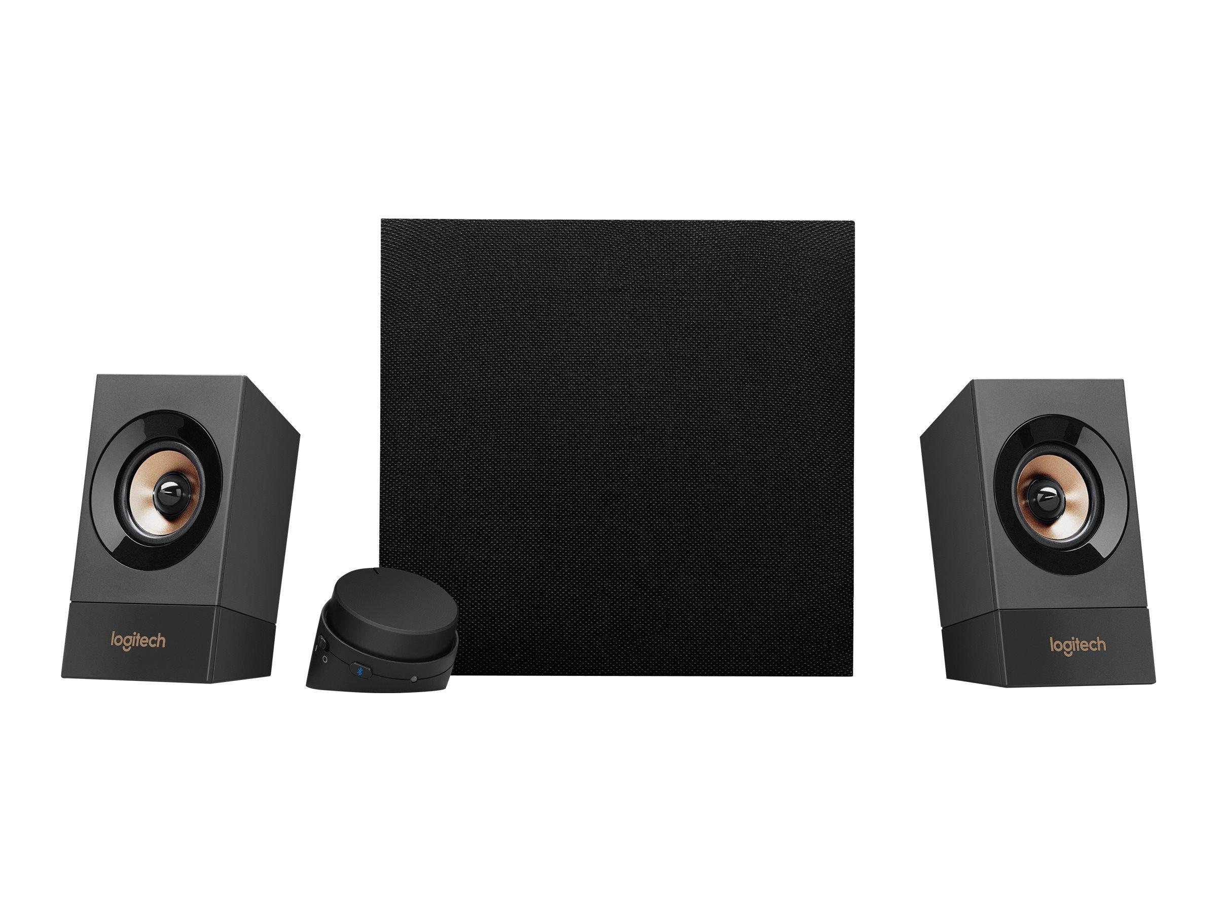 Logitech Z537 - Lautsprechersystem - 2.1-Kanal - kabellos - Bluetooth - 60 Watt (Gesamt)